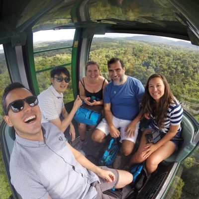 Juliana on Skyrail | Study Cairns
