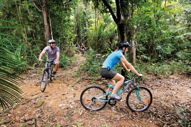 Smithfield mountain bike park Tourism and Events QLD
