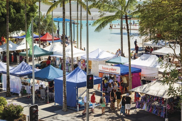 Esplanade Markets Tourism and Events QLd