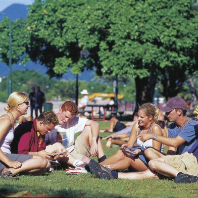 Cairns Esplanade Photo Tourism and Events QLD